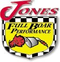 Jones Exhaust V413B V-Power Performance Muffler by Jones Exhaust