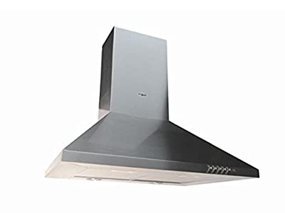 "Range Hood Stainless Steel Wall Mounted 24"" CH-105-CS NT AIR. Made in Italy."