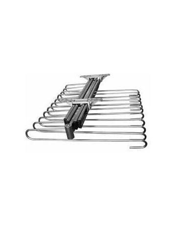 Filinox 82405011 - Pantalonero extraíble doble guía, color acero cromado