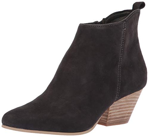 Dolce Vita Women's Pearse Ankle Boot, Anthracite Suede, 8.5 M US