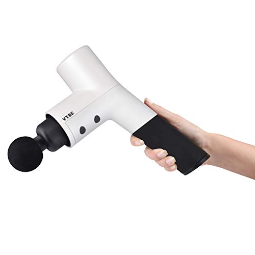 VYBE Percussion Massage Gun - Premium Model - Muscle Deep Tissue Massager - Quiet, Portable, Electric, Hand held, Body Relaxation