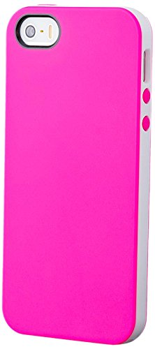iCues 2 Part TPU Cover für Apple iPhone 5 pink