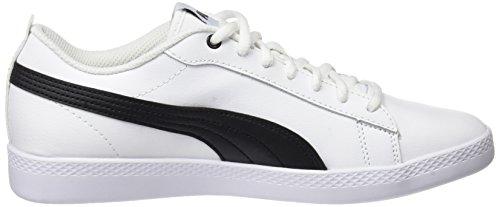 V2 1 White Puma Mujer Wns puma L Blanco para Puma Smash Zapatillas Black UA7qOwqHE