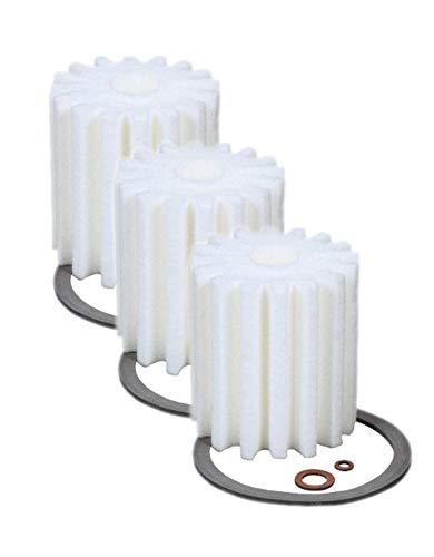 - 3 (Three) RF-1 Micron Rated Fuel Oil Filters Fit 1A-25A 77B Eddington S-254 Fed A77 Sears 8055 Sid Harvey XF-25/264 Mitco 264 AutoFlo F-300