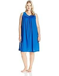 Women's Plus-Size Petals 40 Inch Sleeveless Waltz Gown