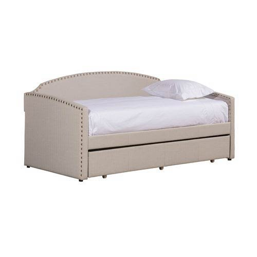 Hillsdale Furniture Lani Daybed with Trundle - Gray Fabric (Gray Lani)