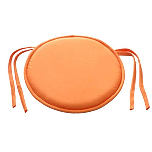 HomeMiYN Round Chair Pads for Outdoor Seat Soft Dining Chair Cushion Pads for Indoor Office Garden 11 Color Choice 17.7 Inches