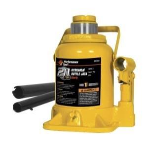Performance Tool W1644 20 Ton (40,000 lbs.) Heavy Duty Shorty Bottle Jack