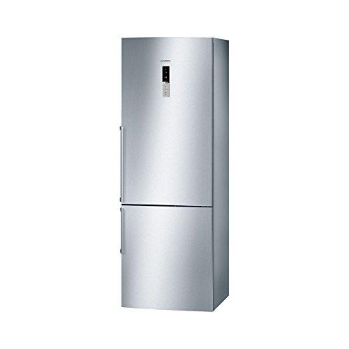 Bosch Serie 6 KGN49AI3P Independiente 435L A++ Acero inoxidable nevera y congelador - Frigorífico (435 L, SN-T, 15 kg/24h, A++, Compartimiento de zona fresca, Acero inoxidable)