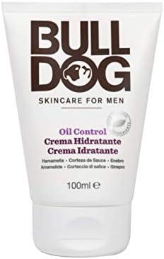 Bulldog - Crema Hidratante Oil Control Anti Grasa Cuidado Facial para Hombres - 100 ml