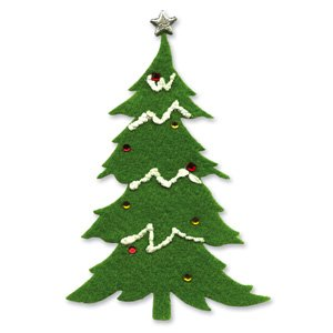 (Ellison Sizzix Originals Die-Large Christmas Tree #2)