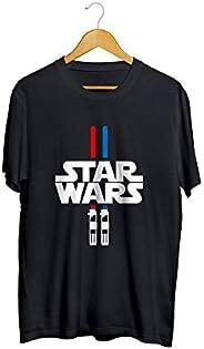 Camiseta Camisa Sabre de Luz Masculino Preto
