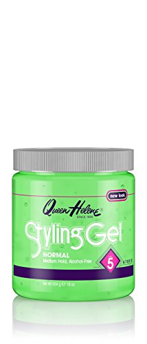 Queen Helene Styling Gel, Normal, 16 Ounce [Packaging May...