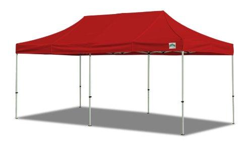 Caravan Canopy 10 X 20-Feet Classic Basic Canopy Kit, Red