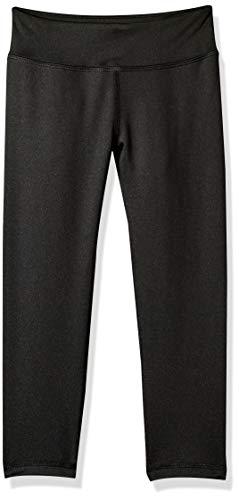 Amazon Essentials   Girls' Active Capri Legging, Black, XXL