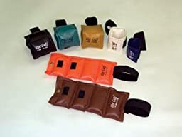 The Original Cuff¨ Ankle and Wrist Weight - 8 Piece Set - 2 each 10, 12.5, 15, 20 lb.