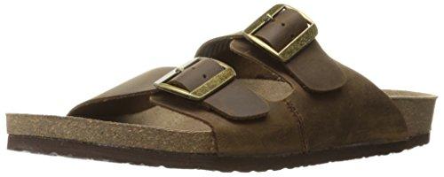 CREVO Men's Sedono Slide Sandal, Brown, 9 M US