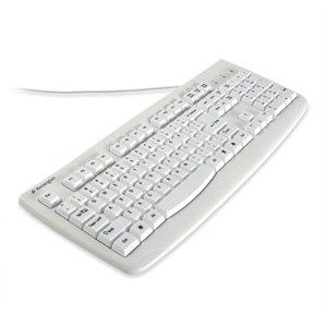 Kensington Computer Products Group - Kensington K64406us Washable Usb/Ps2 Keyboard - Usb, Ps/2 - 104 Keys - White - English (Us)