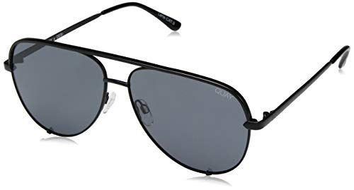 - QUAY AUSTRALIA Women's High Key QUAY X DESI Black/Smoke Polarized One Size