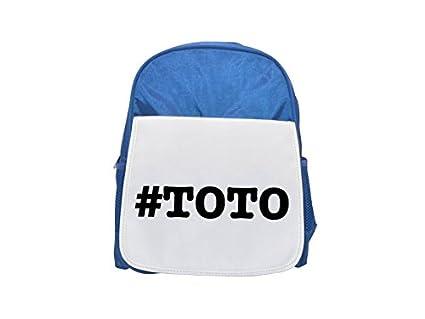 NICKNAMES Toto nickname Hashtag Printed Kid s blue Backpack, cute Backpacks, cute small Backpacks, cute Black Backpack, Cool Black Backpack, ...