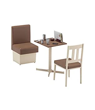 amazon hasegawa 62007 1 12 family restaurant table chair by