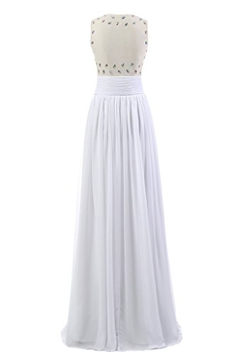 Ivydressing Bianco ad Donna linea a Vestito rwH4fUpqnr