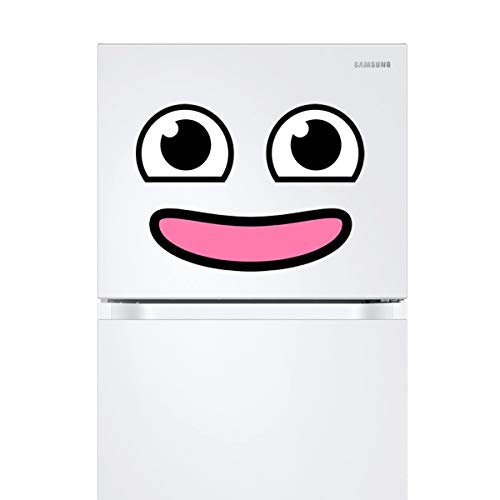 Kawaii Refrigerator Magnet (style A) – Smiley Face Fridge Magnets – Appliance Magnetic Decals – Funny Emoji Decorations…