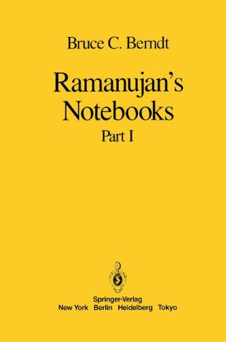 Ramanujan's Notebooks: Part I
