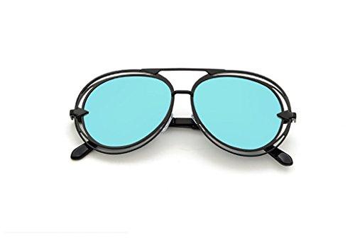 タヒチ監査伝統的メガネ?サングラス レディースサングラス/ヨーロッパとアメリカファッションカラーサングラス男性/野生のサングラス (色 : 2)