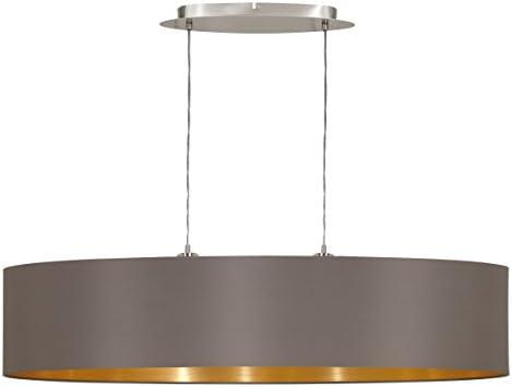 Eglo 31619 Maserlo - Lámpara de techo, con pantalla de ...