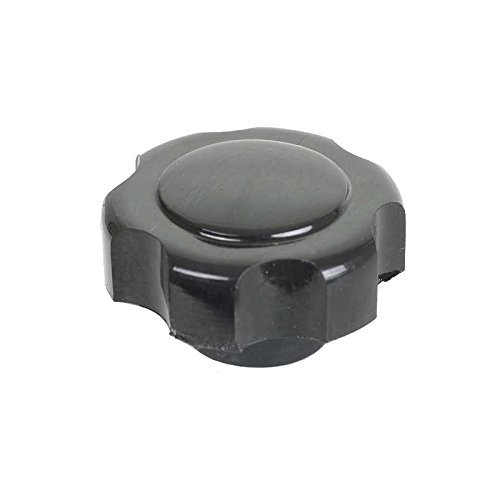 MACs Auto Parts 48-12442 Ford Pickup Truck Windshield Wiper Switch Knob - Black - For Electric Wipers (Windshield Knob Switch Wiper)