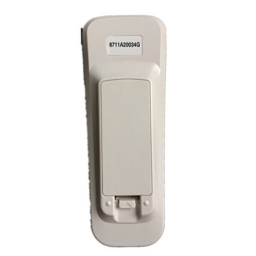 QINYUN Remote Control 6711A20034G For LG Air Conditioner LWHD1500ER RADS-151A by QINYUN (Image #3)