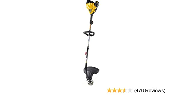 Poulan Pro 967185601 PP25CFA 25cc 2-Cycle Curved Shaft 17-Inch Dual Exit Fixed Line Head String Trimmer