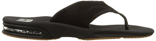 Reef Fanning Mens Sandals Bottle Opener Flip Flops for Men,Black/Silver,12 M US by Reef (Image #11)