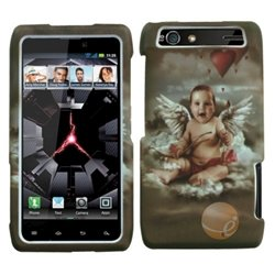 (MYBAT Lizzo Cupid Phone Protector Faceplate Cover Compatible With MOTOROLA XT912(Droid Razr) Verizon)