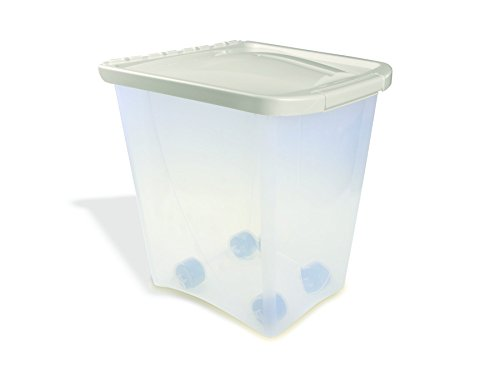 (Van Ness 25 Pound Food Container with Wheels)