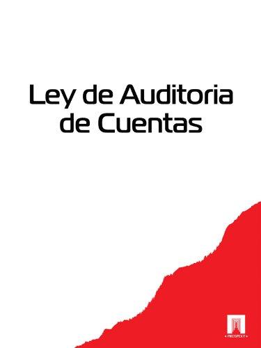 Descargar Libro Ley De Auditoria De Cuentas España