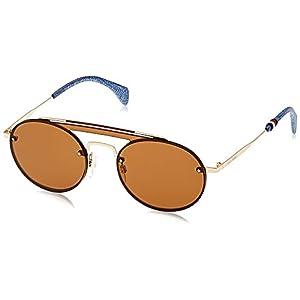 Tommy Hilfiger Women's TH Gigi HADID3 70 Sunglasses, Gold/Bw Black Brown, 99