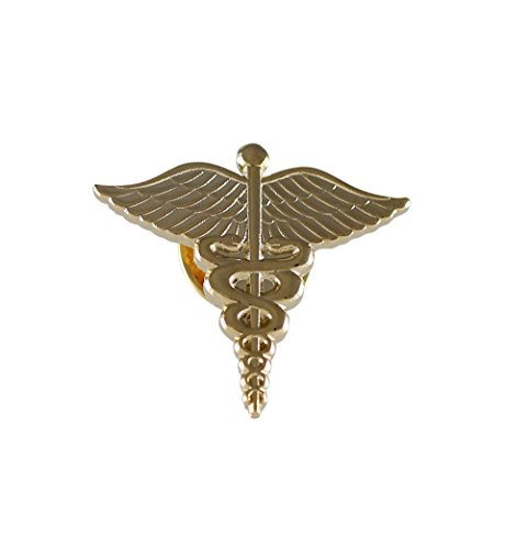 Forge Caduceus Medical Emblem Pin (1 Pack)