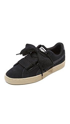 Heart Sneaker Women's Puma puma Suede Black Black Wn Safari Puma UEaxw