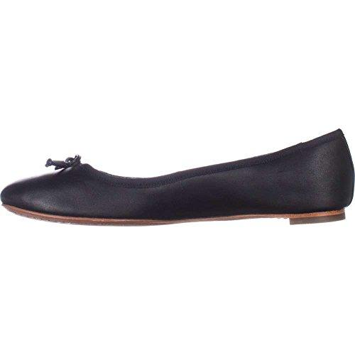Coach Womens Flatiron Closed Toe Ballet Flats Black