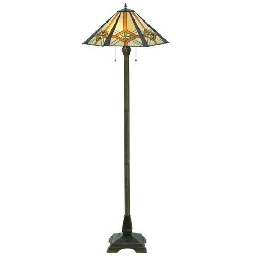 Meyda Tiffany Mission Floor Lamp (Crosshairs Mission Hex Floor Lamp)
