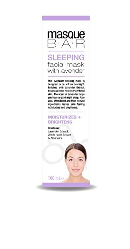 Masque Spa - Spa at Home Sleeping Mask with Lavender, Purple
