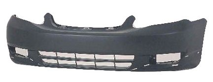 Toyota Corolla S 03-04 Bumper Cover Front Primed New W/Ground Effects