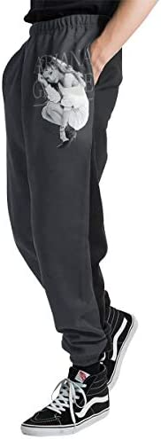 Ariana Grande アリアナ・グランデ メンズ スウェットパンツ トレーニングパンツ ロングパンツ ジョガーパンツ ゆるシルエットおしゃれ 秋 冬