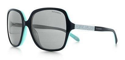 Gafas de Sol Tiffany & Co. TF4072B BLACK/BLUE GRAY: Amazon ...