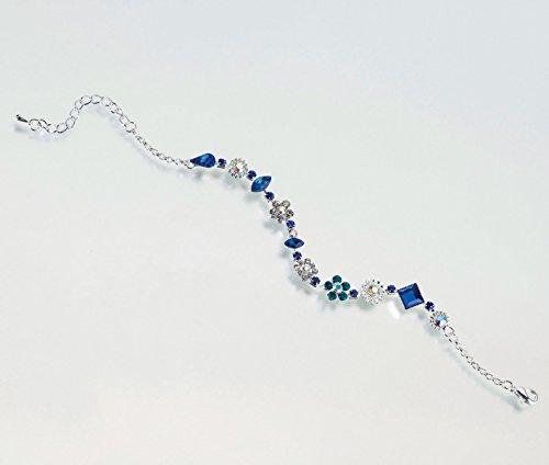 Old Silver Anklet - Lillian Rose Something Blue Bride Wedding Ankle Bracelet