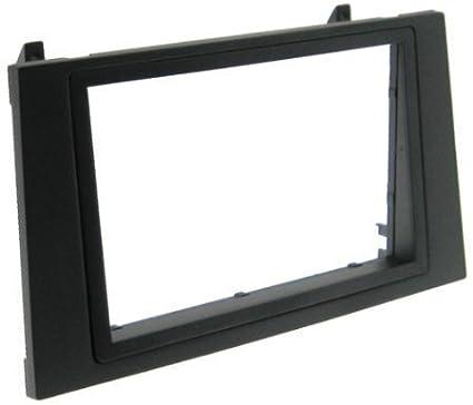 FORD Mondeo doble 2 DIN de marco embellecedor de Radio Navi TFT de montaje adaptador ISO