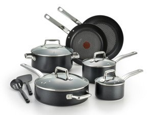 t-fal ProグレードチタンNonstick Cookware Set ( 12-piece )   B075ZQ46XD