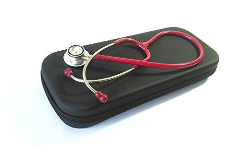 Professional Stethoscope Hard Case Black